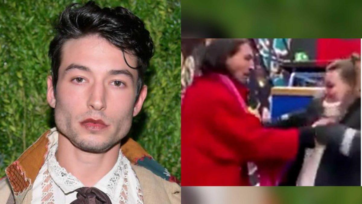 VÍDEO: Ezra Miller é acusado de estrangular mulher em público e choca fãs