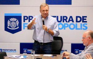 Gean Loureiro não cede pressão — Foto: Luiz Henrique/Figueirense FC