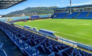 Ressacada não poderá receber jogos no Catarinense — Foto: Leandro Boeira/Avaí FC