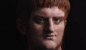 Assim seria o rosto do imperador - Divulgação/Youtube/Salvador Ruano