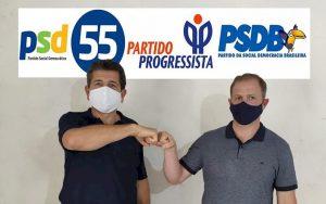 Vidal Balak (PSD) e Acacio Mees (PSDB)