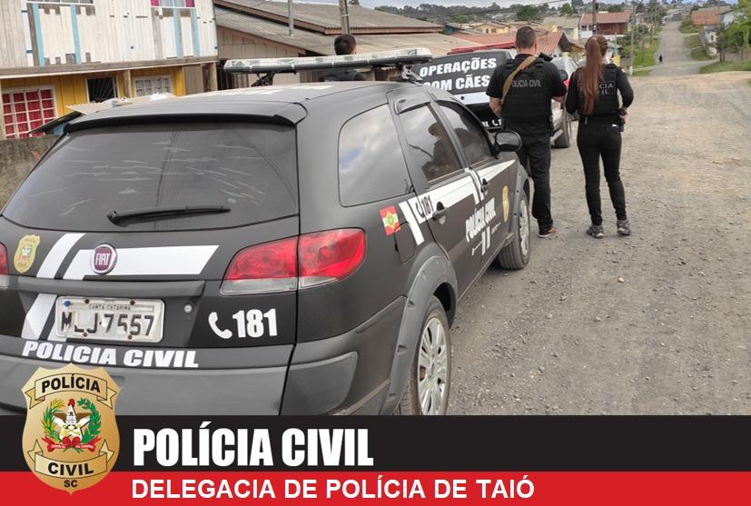 """""""Operação Impressões"""" cumpre mandados de prisão contra suspeitos de roubo à gráfica de Taió"""