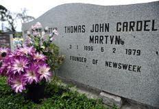 Túmulo de Thomas John Cardel Martyn fica em Agrolândia (Foto: Alvarélio Kurossu / Agência RBS)