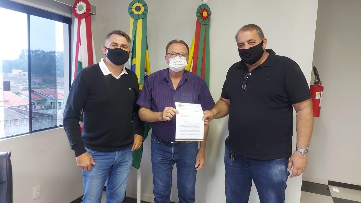 Prefeito e vice de Taió visitam municípios do Vale Oeste para tratar sobre UTI e Ciretran